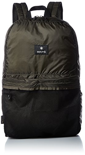 Snow Peak Pocketable Daypack, Olive, One Size ()