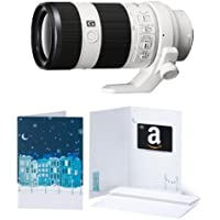Sony FE 70-200mm F4 G OSS Interchangeable Lens for Sony Alpha Cameras with $50 Giftcard