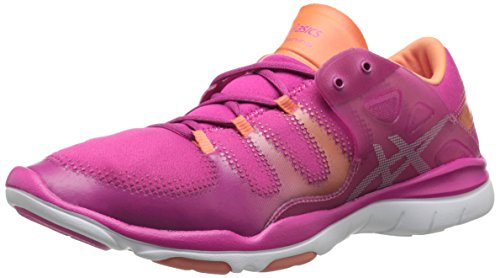 ASICS Women's Gel Fit Vida Fitness Shoe, Berry/Silver/Melon, 9.5 M US by ASICS