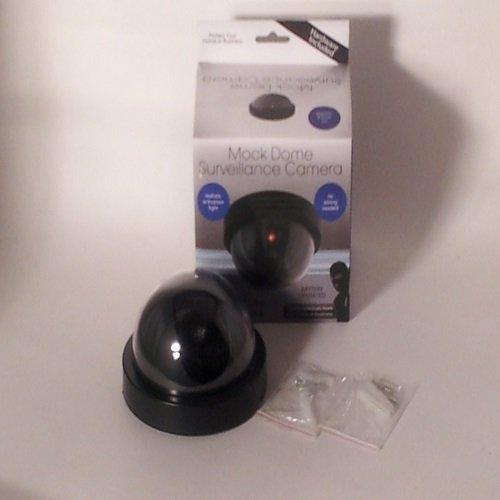 独特の上品 ダミーフェイクセキュリティCCTVドームカメラ点滅レッドLEDライト B00KU4SDKK, コシガヤシ:5ffea82c --- a0267596.xsph.ru