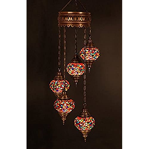 Moroccan chandeliers amazon choose from 12 designs turkish moroccan mosaic glass chandelier lights hanging ceiling lamps medium 7 aloadofball Choice Image