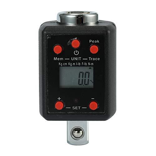 High Precision Electronic Digital Display Torquemeter Adjustable Torque Meter 1.5-1000Nm Professional Universal Wrench ()