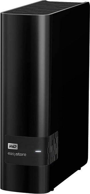 Black Sealed Easystore 8TB External USB 3.0 Hard Drive WD