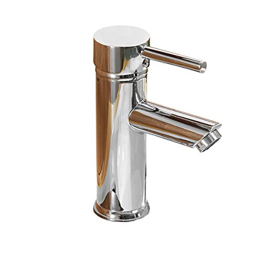 Greenspring Single Handle Bathroom Sink Faucet One Hole Deck Mount Lavatory Faucet Stainless Steel...