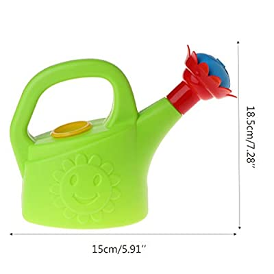 MOMU Cute Cartoon Home Garden Watering Can Spray Bottle Sprinkler Kids Beach Bath Toy: Home & Kitchen