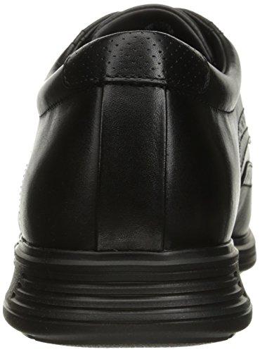 Rockport Mens Dressports 2+ Pelle Bovina Oxford Leggera Nera