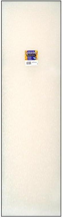 FloraCraft FLO10B2WS Flora Craft Styrofoam Sheet Pkg 2x12x36 White