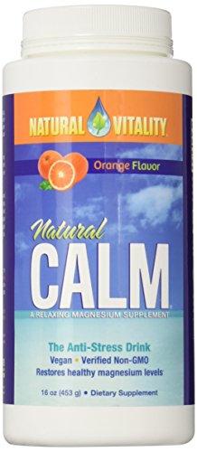 Natural Vitality Natural Calm, Orange, 16 Ounce