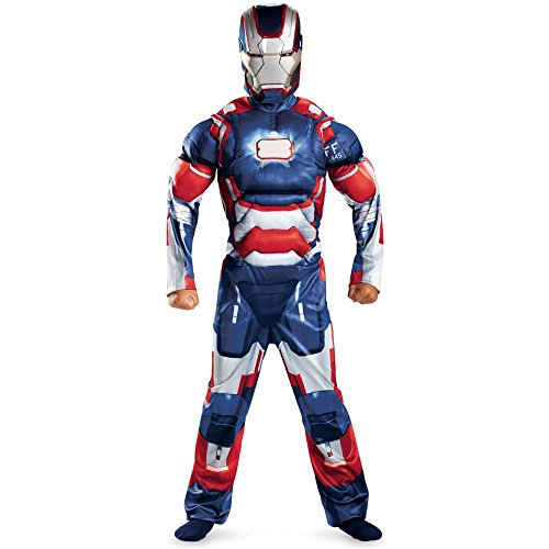 Iron Patriot Classic Muscle Child Costume - Large