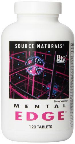 Source Naturals Mental Edge, Multivitamin for the Brain 120 Tablets - Edge Natural