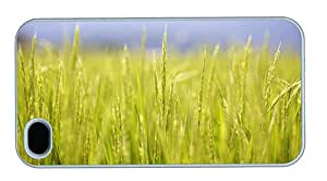 Hipster iPhone 4S covers Cheap price rice plants PC White for Apple iPhone 4/4S