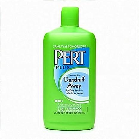PERT Plus 2 en 1 Champú + Acondicionador, anti Caspa 750 ml (Pack de 4): Amazon.es: Salud y cuidado personal