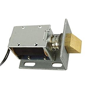 Dc 12v Open Frame Type Solenoid For Electric Door Lock