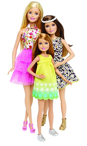 Barbie and Her Sisters in The Great Puppy Adventure Doll (3-Pack) (Discontinued by manufacturer) by Barbie