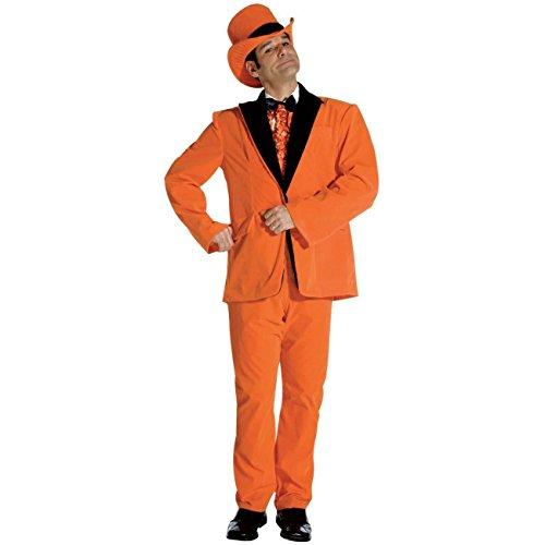 Rasta Imposta Orange Dumb Dumber Tuxedo Costume Size: Adult Standard -