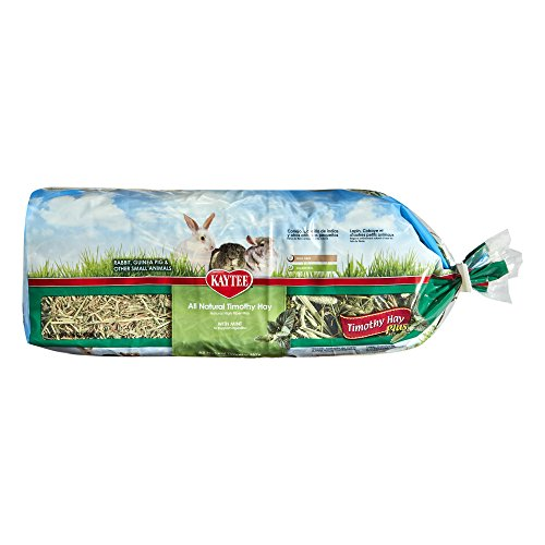 Kaytee Timothy Hay for Rabbits & Small Animals, Assorted Flavors, 24 oz Bag