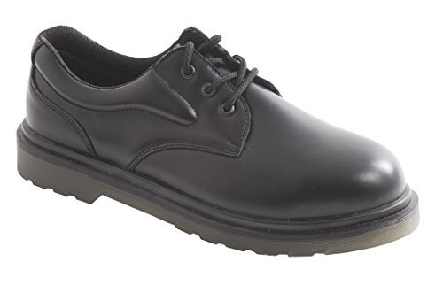 Portwest FW26BKR47 SB Size-12 Air Cushioned Safety Shoes - Black by Portwest by PORTWEST (Image #1)