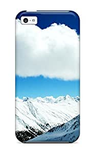 CaseyKBrown For HTC One M9 Case CoverRetailer Packaging Winter Snow Mountains Protective Case