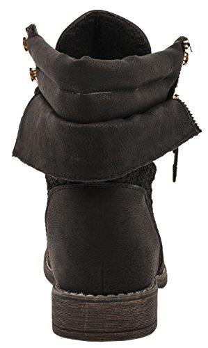 Femmes Les Les Motard Bottes Noir De Noir Elara Motard Elara Bottes Les De Femmes 0qYXwRx