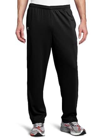 Russell Athletic Men's Dri-Power Core Pant, Black/Steel, X-Large