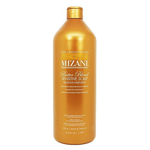 Mizani Butter Blend Sensitive Scalp Balance Hair Bath Neutralizing & Chelating Shampoo - Scalp Mizani Sensitive