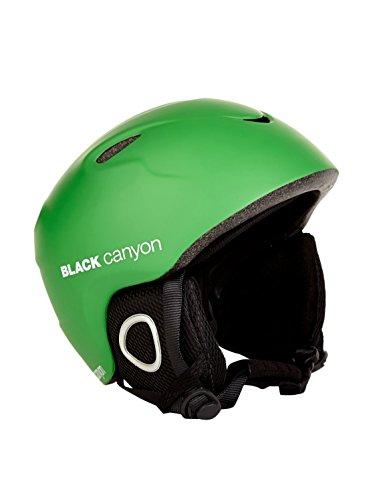 Black Canyon Kinder und Jugend Skihelm Hintersee, Grün,XS/S, BC39240G