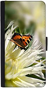 Snoogg Wallet Case Flip Case Sleeve Folio Book Cover with Credit Card Slots, Cash Pocket, Stand Holder, Magnetic Closure Black For HUAWEI MATE S