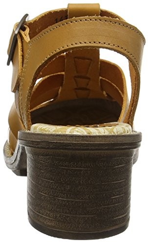 FLY London CELOS511FLY - Sandalias Mujer Brown - Braun (MUSTARD 003)