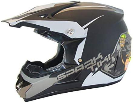 安全装置 ヘルメット - 大人のフルフェイスモトクロスヘルメットユニセックスレーシングバイクヘルメット安全性軽量男性と女性 個人用保護具 (サイズ さいず : Xl xl)