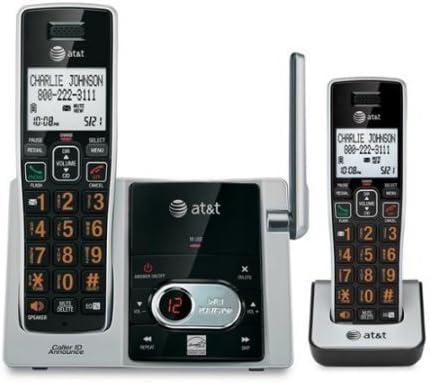AT & T CL82213 teléfono inalámbrico DECT 6.0 – inalámbrico – 1 x – 1 x de línea de teléfono teléfono – Manos Libres – Contestador automático – Compatible con audífonos (CL82213): Amazon.es: Electrónica