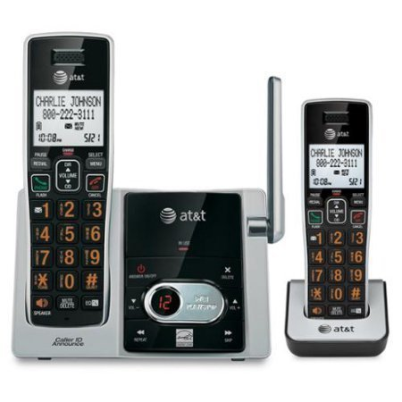 - At&t Cl82213 Dect 6.0 Cordless Phone - Cordless - 1 X Phone Line - 1 X Handset - Speakerphone - Answering Machine - Hearing Aid Compatible (cl82213)