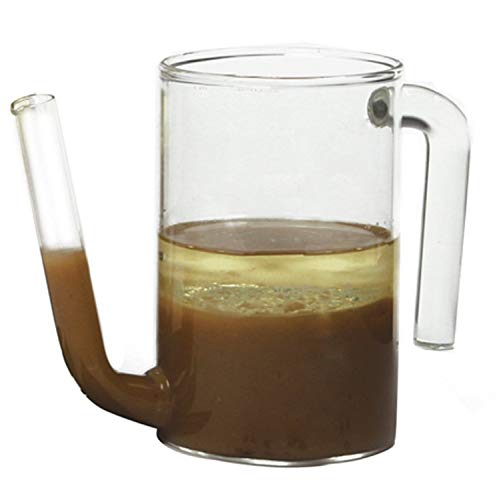 Akkapeary 2-Cup Glass Gravy Sauce Stock Soup Fat Grease Separator Dishwasher Safe 5'' X 6.5'' X 3'' / 13cm X 16.5cm X 7.5cm Comfortable Easy Hold Handle for Right or Left Hand Use Clear Hand Wash by Akkapeary (Image #1)