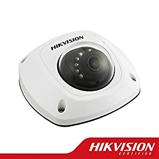 Hikvision DS-2CD2520F Vandal-Proof HD Mini Dome Network Surveillance Camera 2 MP, 4mm Lens, 1920X1080p, IP66 Weather Proof,White