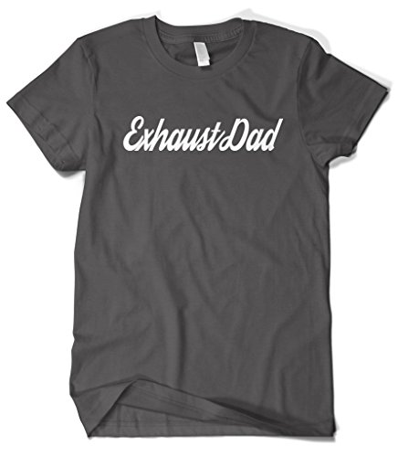 cybertela-mens-exhaustdad-script-play-with-word-exhausted-t-shirt-charcoal-x-large