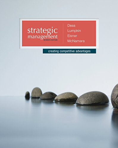 Strategic Management: Creating Competitive Advantages with BSG/GLO-BUS AC