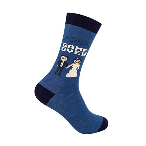 Game Over Funny Wedding Bachelor Party Socks, Game Over, One Size by Funatic