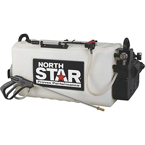 Deluxe Boom Sprayer - NorthStar Boomless Broadcast and Spot Sprayer - 26-Gallon Capacity, 2.2 GPM, 12 Volts