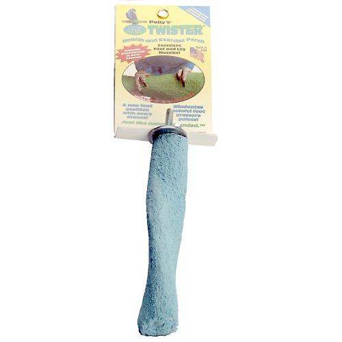 Polly's Twister Bird Perch, - Twister Perch