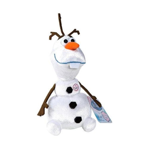 Disney Frozen Olaf Talking Bean Plush]()