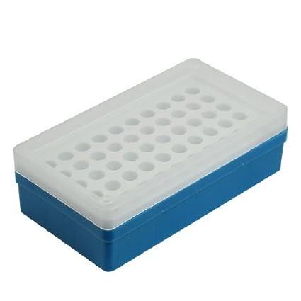 Caixa de plástico Mold 50 Compartimentos Cube Ice Blue