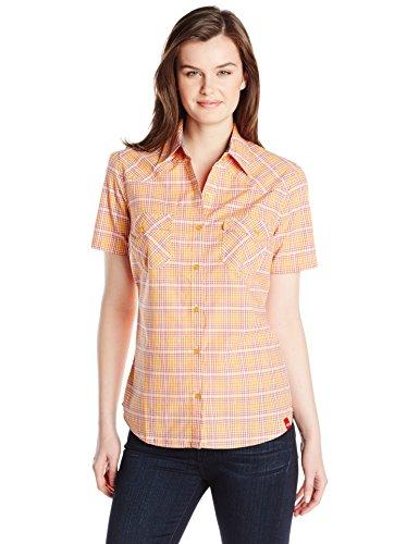 Dickies Womens Short Sleeve Plaid Western product image