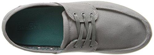 Sanuk Men's Casa Barco Boat Shoe,Charcoal,13 M US
