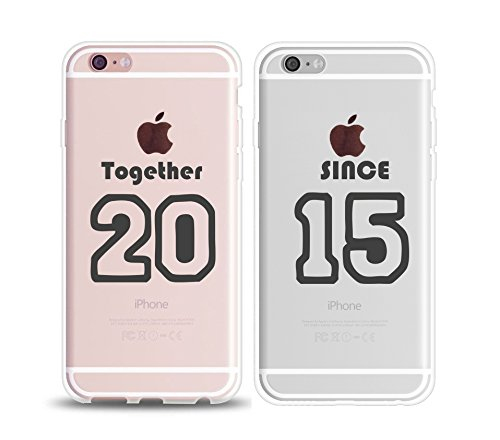 amazon com couple matching iphone 6 cases love together since 2015image unavailable image not available for color couple matching iphone 6 cases love