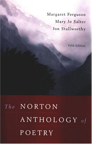 The Norton Anthology Of Poetry, 5th edition.[Paperback,2004]