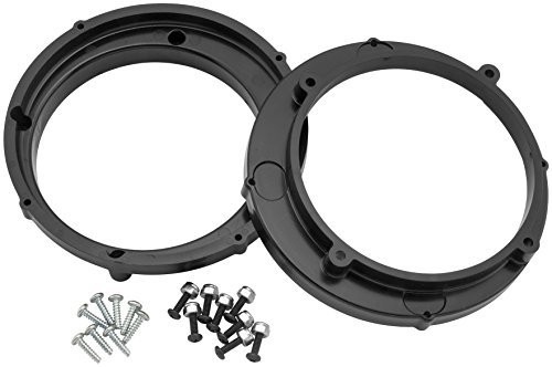 Xc Ring (Hawg Wired 6.5 Speaker Adapter Rings Xc AR65XC)