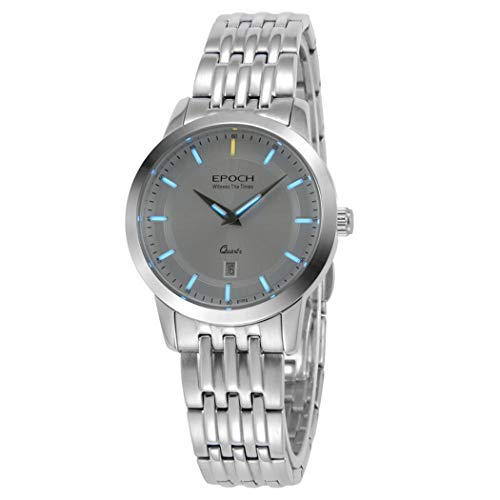 EPOCH 6023L 50m Water Resistant T25 Tritium Luminous Vogue Business Dress Lady Women Quartz Watch Wristwatch (P5)