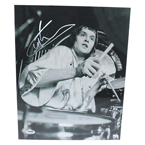 Carl Palmer Autographed Signed 11x14 Photo - PSA/DNA Authentic