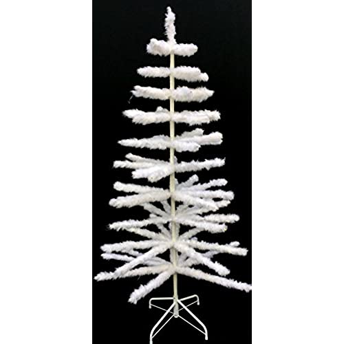 6' White Retro Vintage Style Real Goose Feather Christmas Tree White Easter  Tree - Feathers For Christmas Tree: Amazon.com