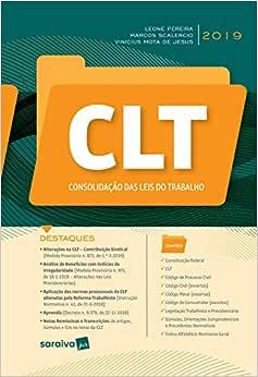 CLT - Consolidação das Leis do trabalho - 1ª edição de 2019