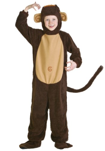 [Big Boys' Child Monkey Costume] (Monkey Costumes Child)